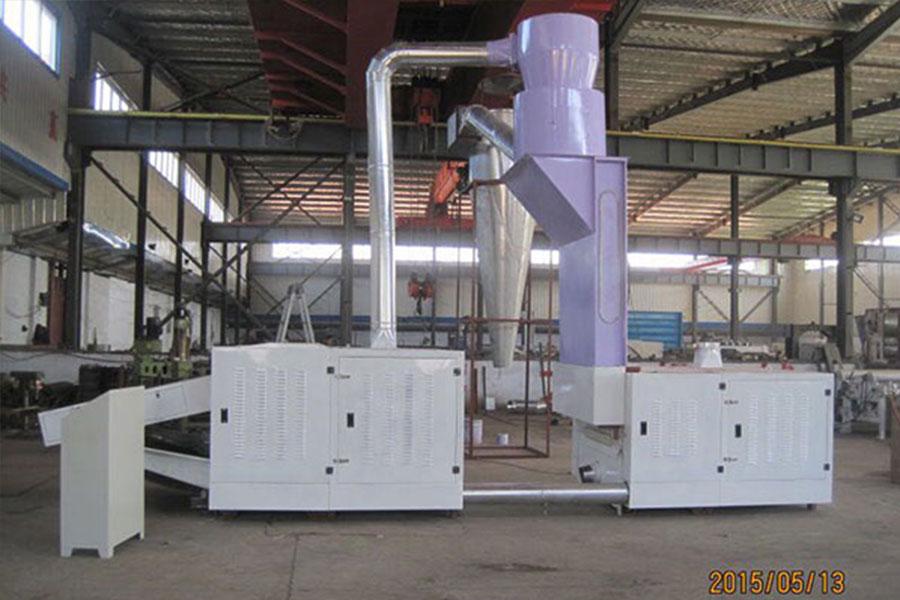 废棉回收机器单元式实机